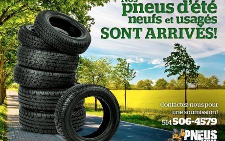 C'est le temps de penser a vos pneus d'été
