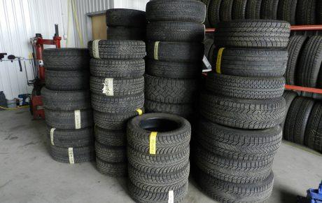 Réception de pneus et roues usagées sur une base régulière